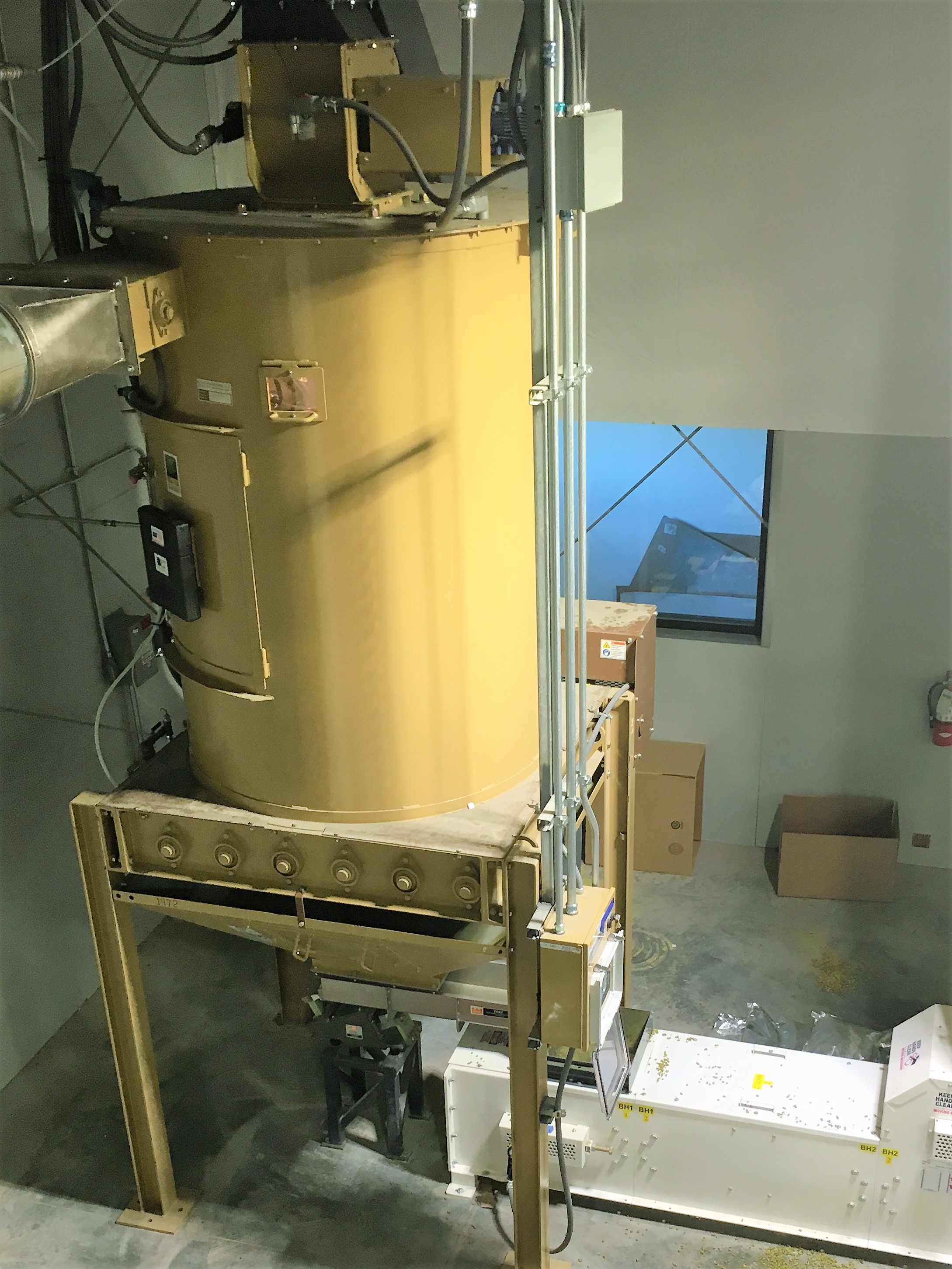Pellet Cooler Equipment Hop pellet production app