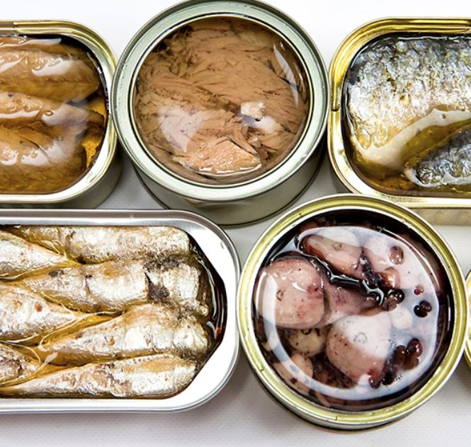 Canned seafood fish manufacturing app