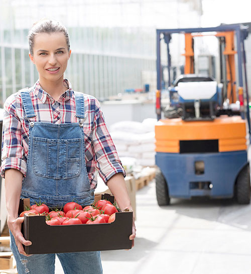 RFID Fresh produce inventory pallet control