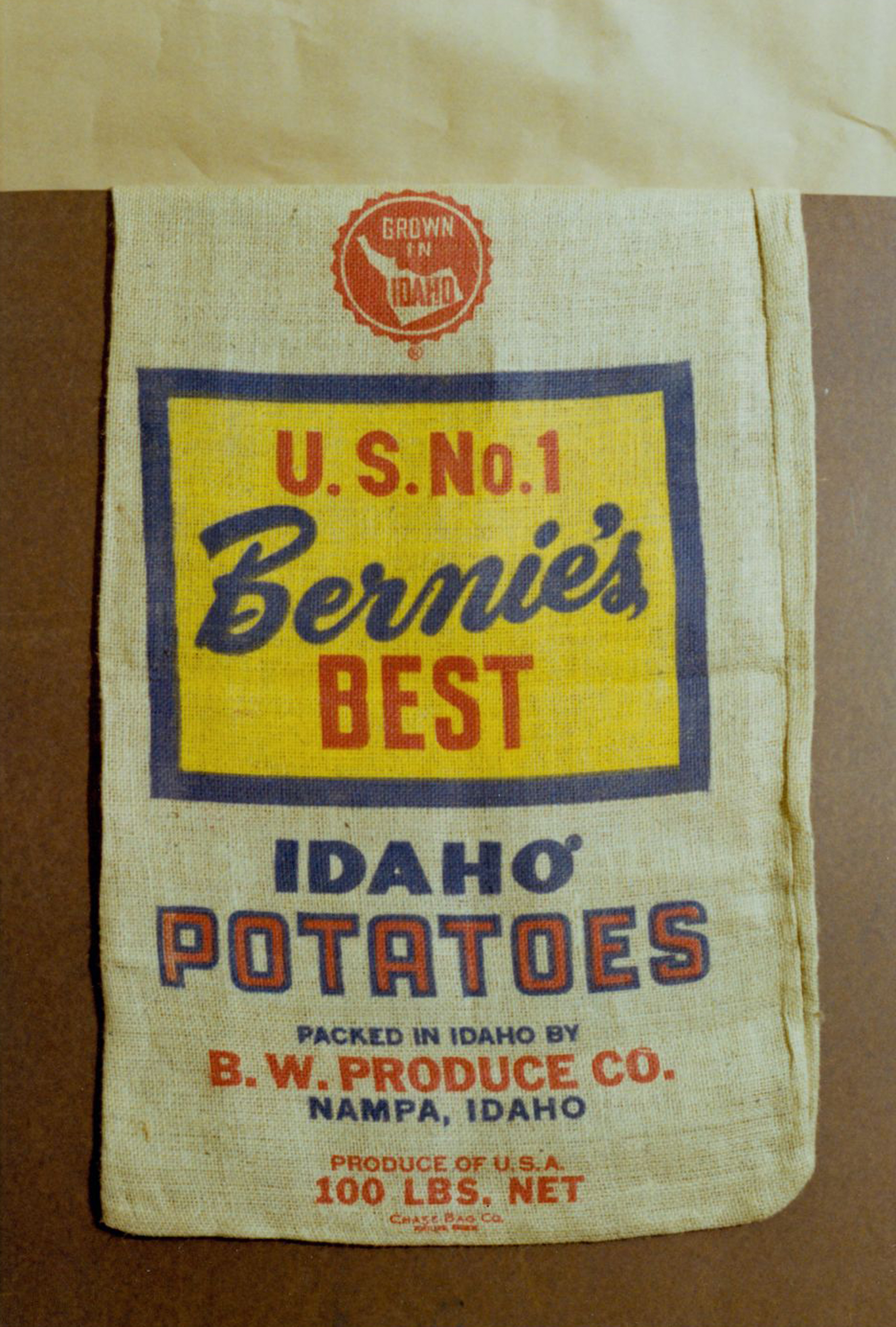 Potato packing