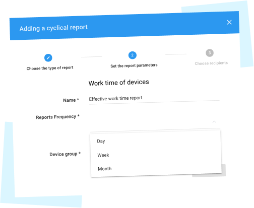 Automation of machine operation reports