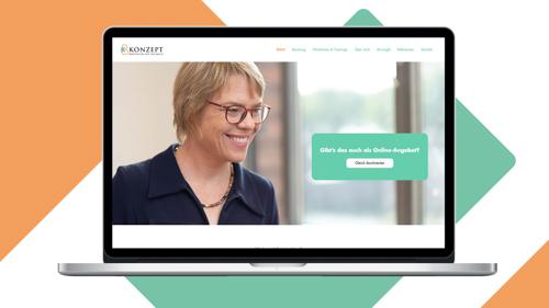 KB Konzept Website