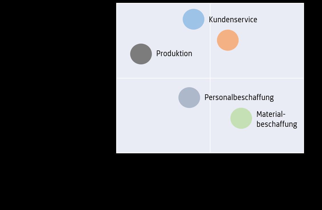 Prozessanalyse Methoden: Exemplarische Prozessmatrix