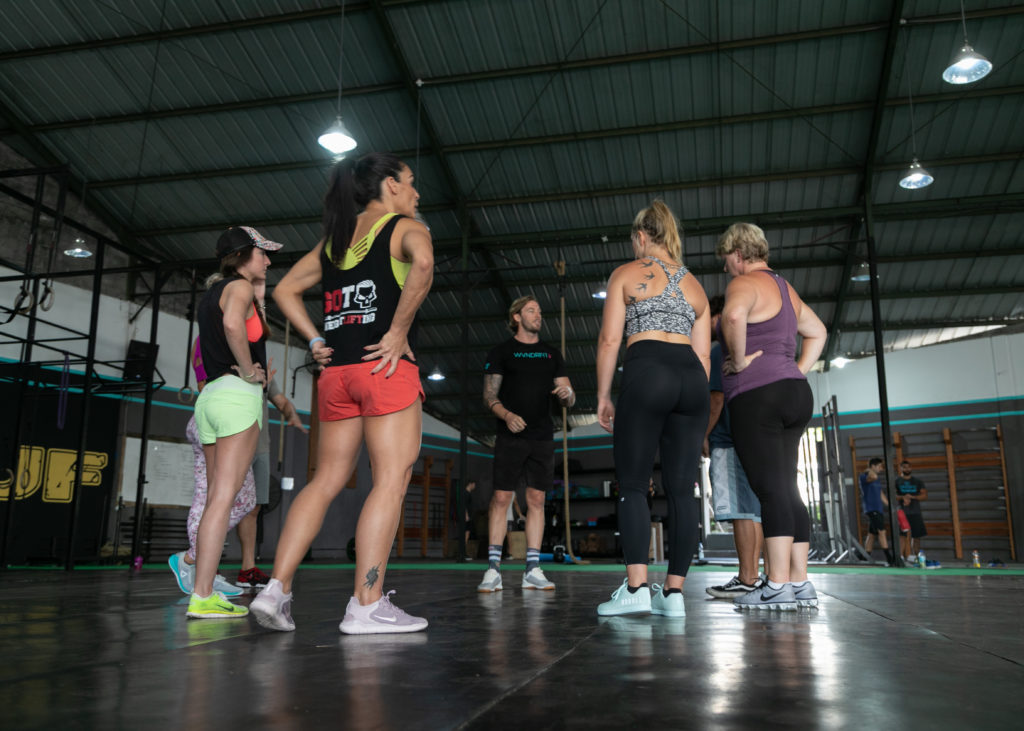 Workouts at CrossFit Wanderlust