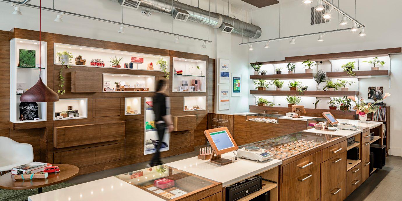 Cannabis dispensary interior