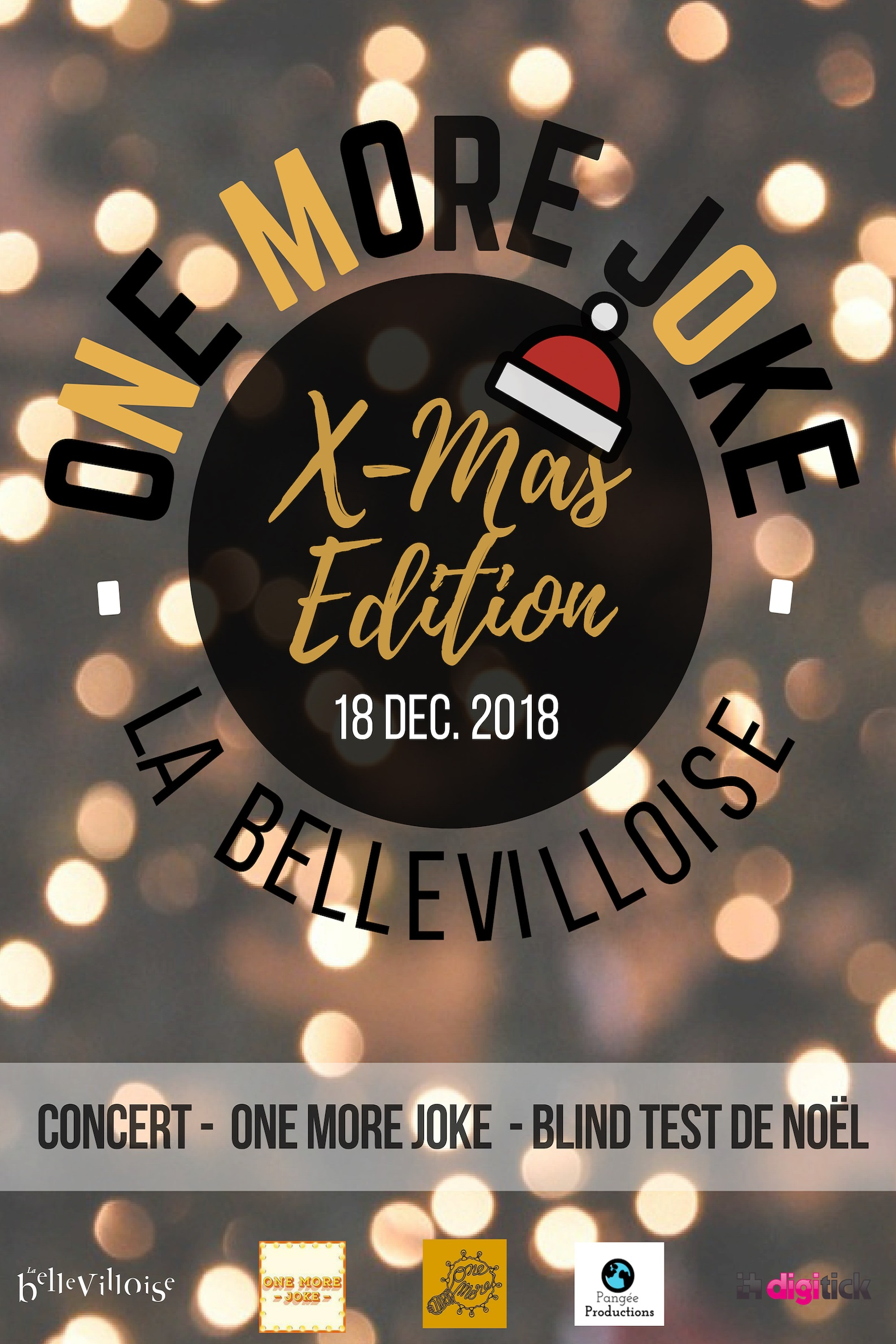 One More Joke Xmas Edition X La Bellevilloise