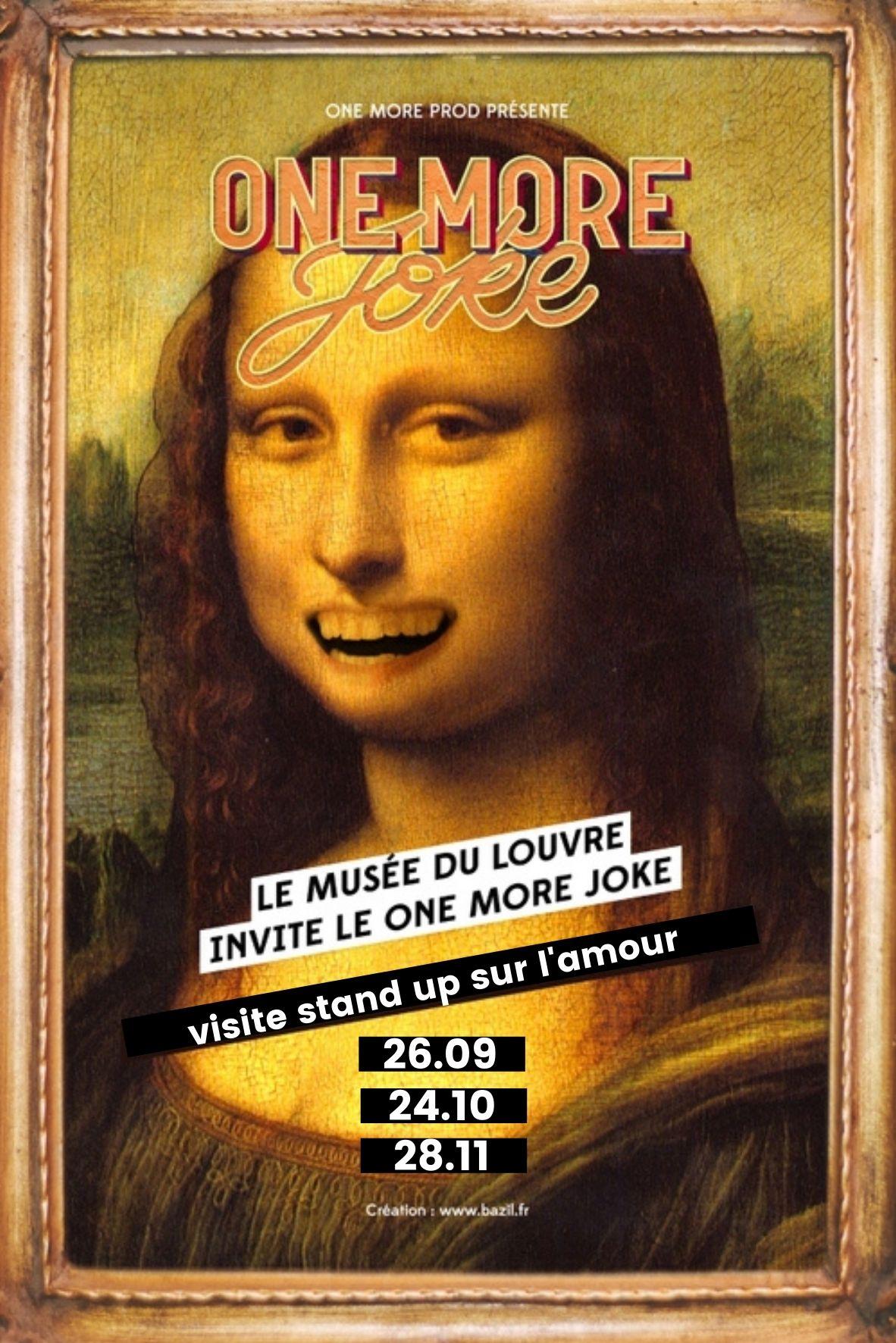 One More Joke X Le Louvre | Visite stand-up sur l'amour