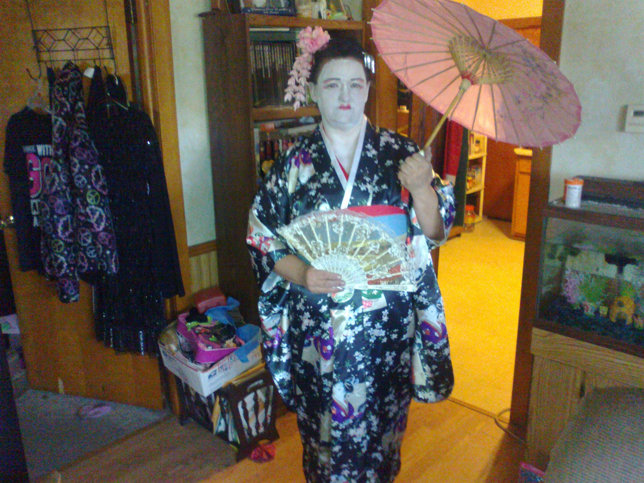a geisha from japan