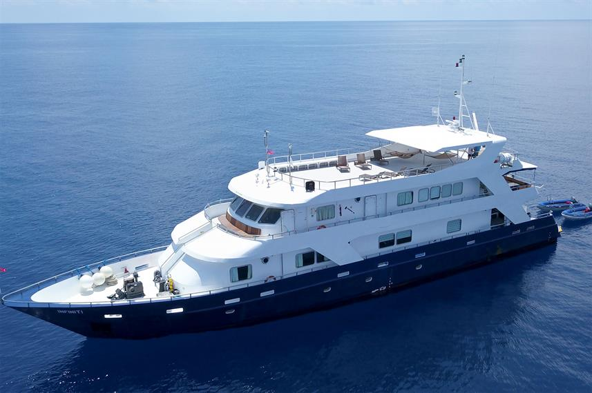 The Infiniti Liveaboard in the Philippines