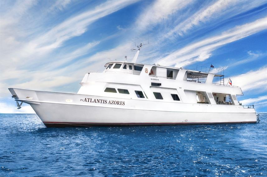 The Atlantis Azores liveaboard in the Philippines