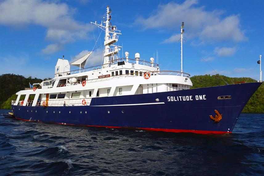 The Solitude One liveaboard in the Philippines