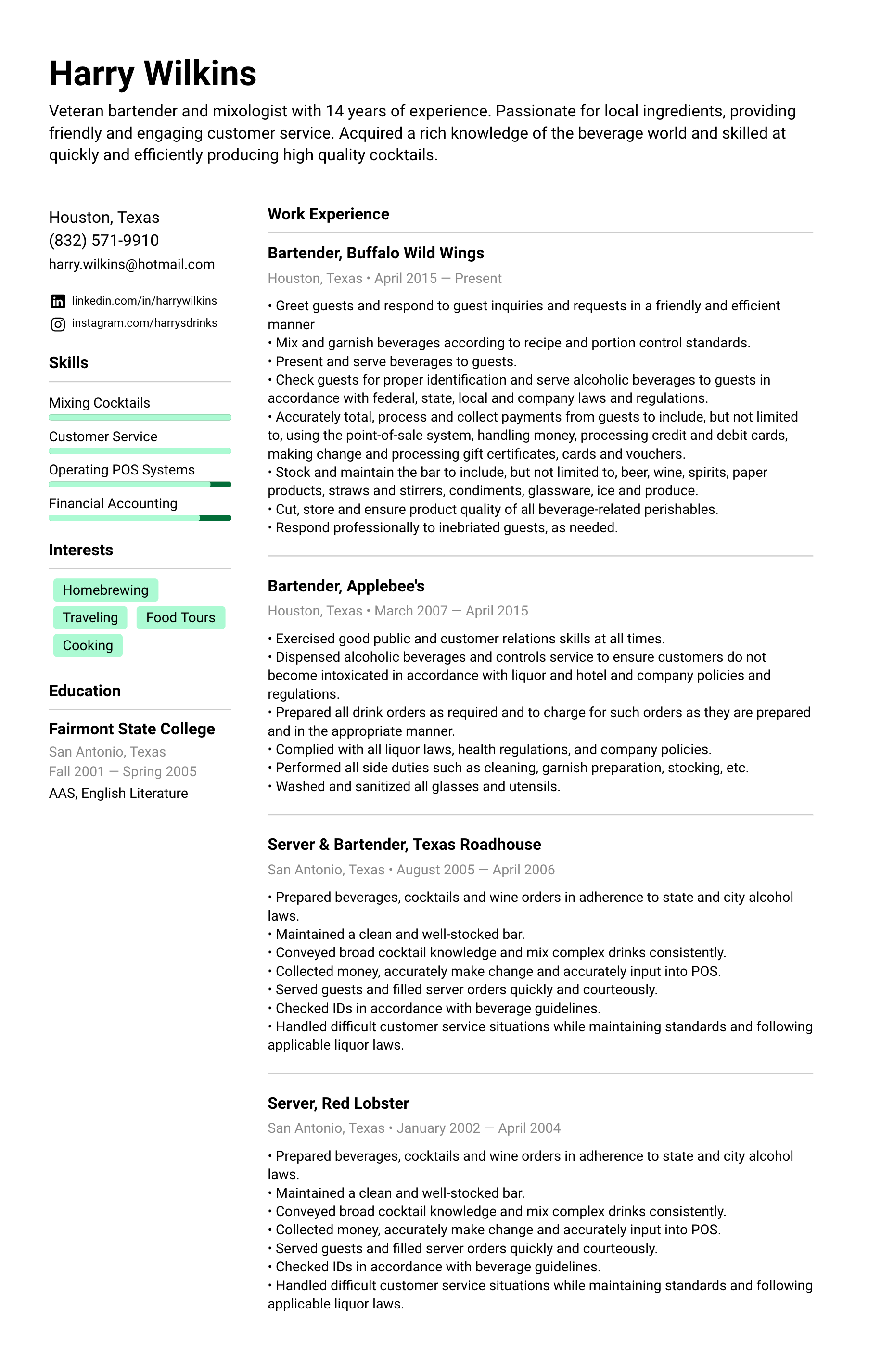 Nurse Resume Example Amp Writing Tips For 2020