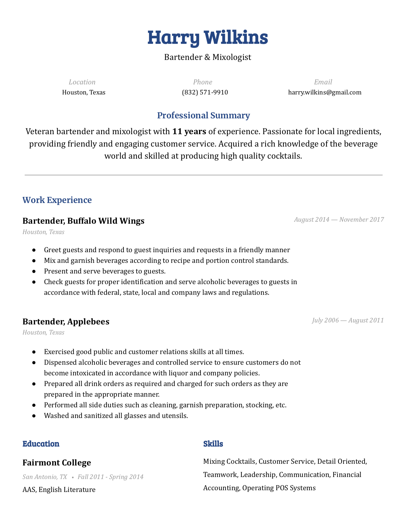 Fulton Google Doc Resume Template Free Download Easy Resume