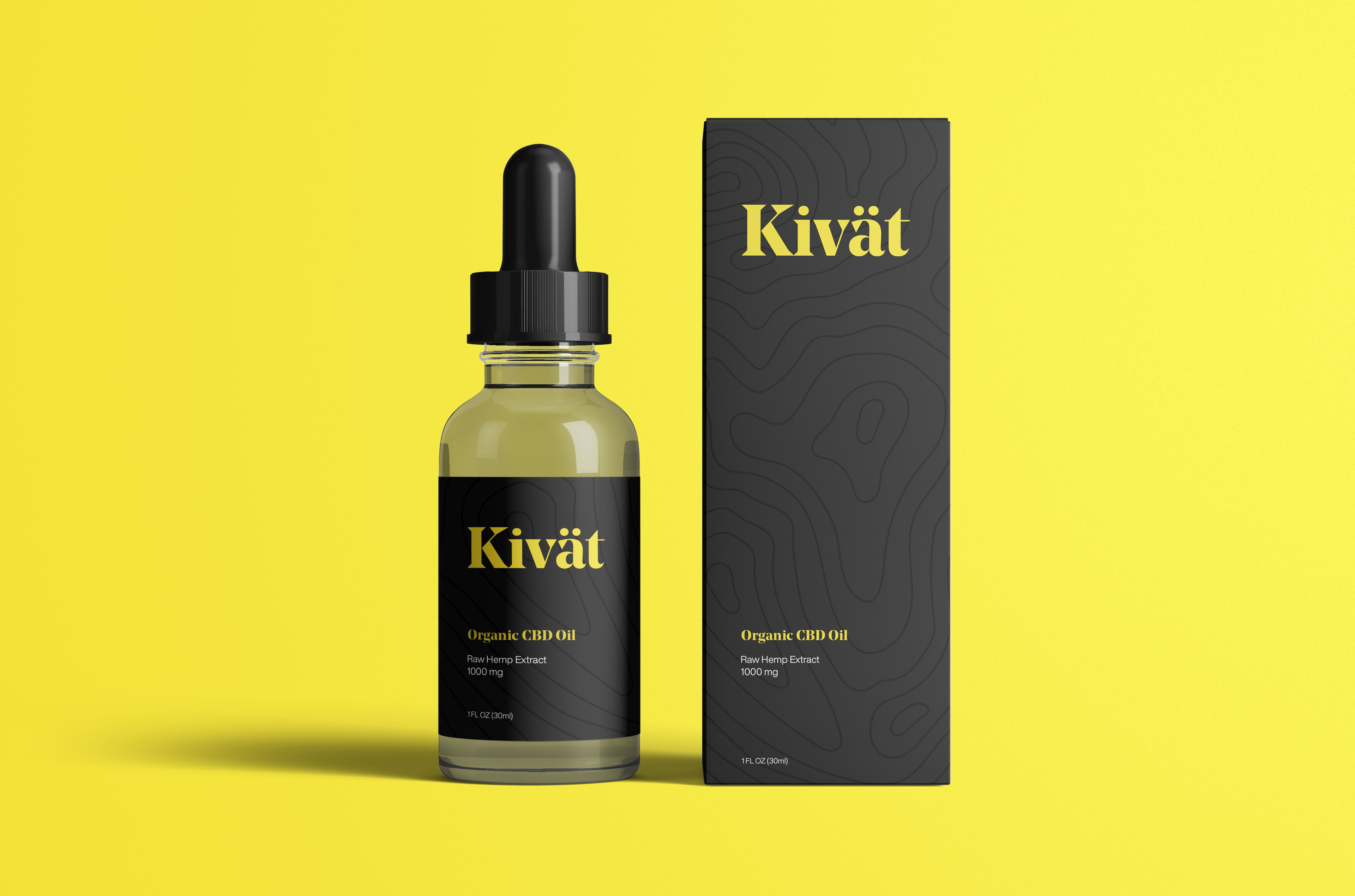 The objective for this project was to design the logo and packaging design for Kivat CBD Oil. Kivat is a brand of organic CBD Oil that was started in mid 2020 during the Covid-19 pandemic. At their initial launch, their packaging was printed on sticker labels and applied to the bottle by hand. We worked together to develop a new logo and proper packaging and boosted their sales by over 400% after implementing the new designs.