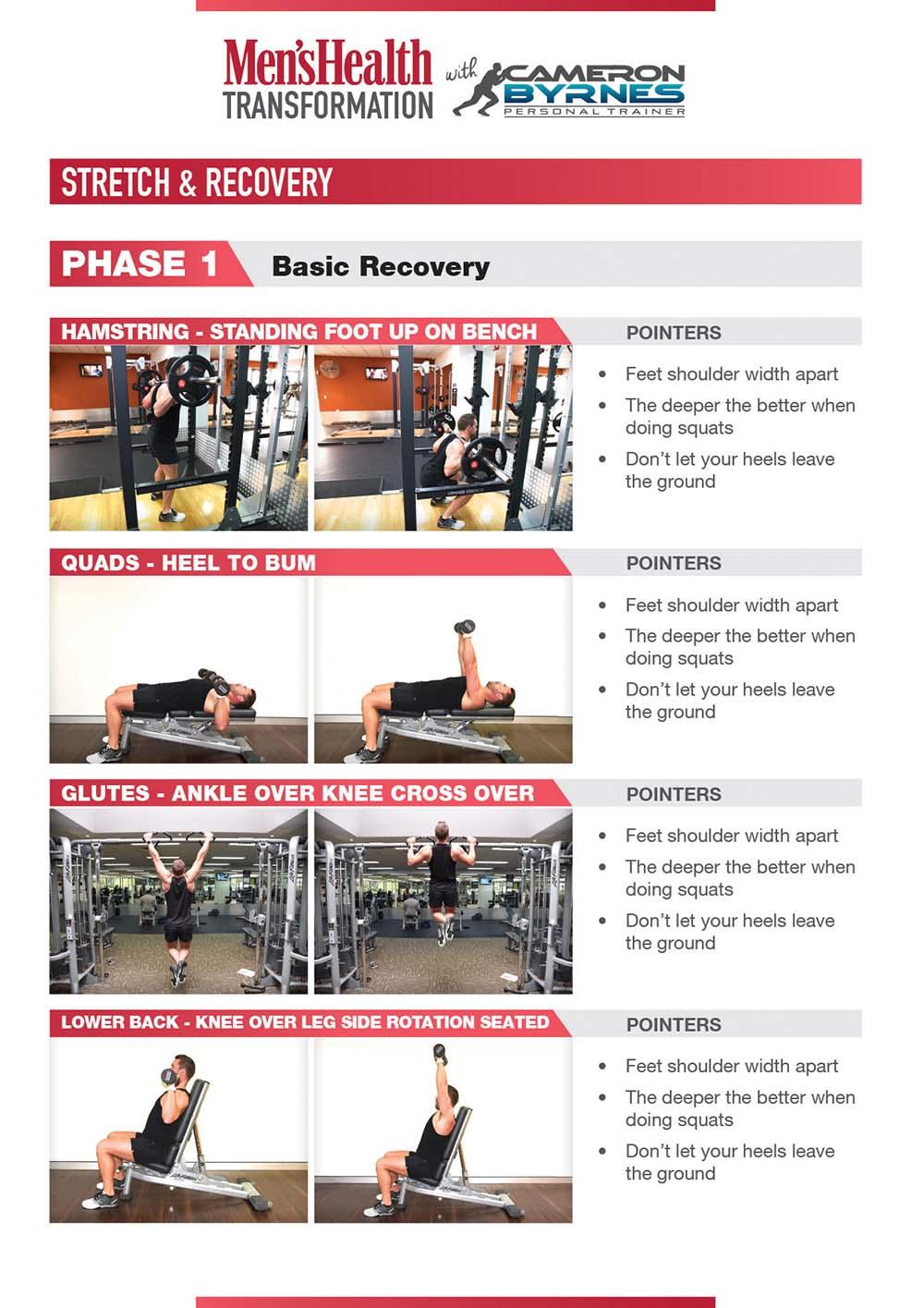 Cameron Byrnes mens health workout program