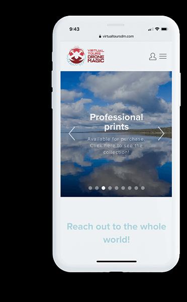Website design iPhone