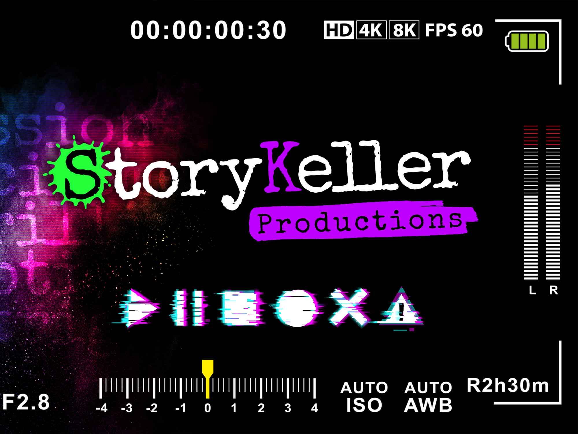 Logo design mockup Storykeller Productions