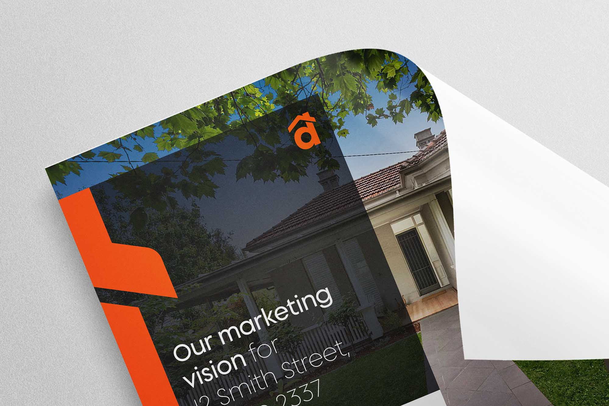 Marketing Collateral for Dawson Estate Agents