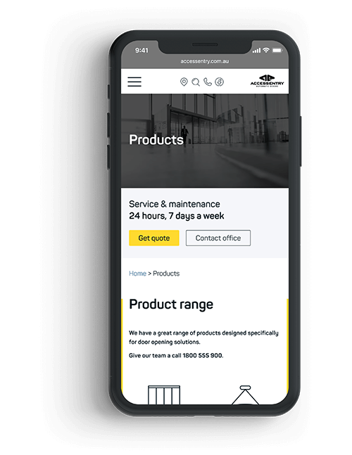 Nuggets News website design mobile