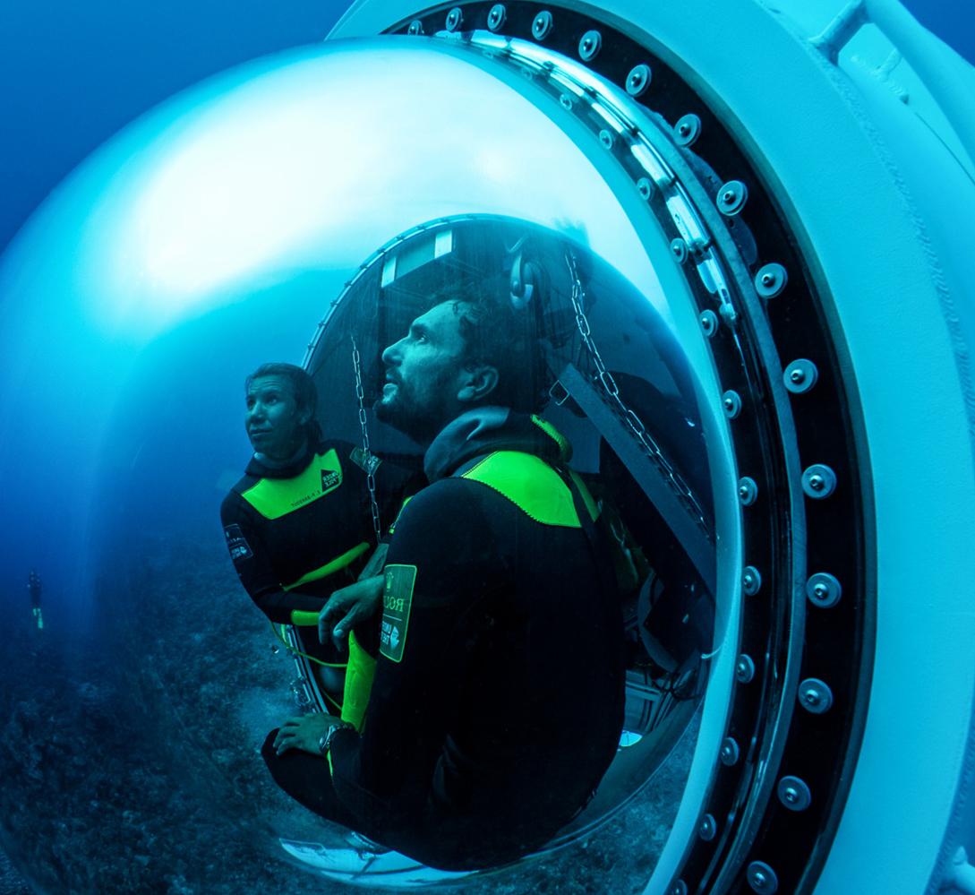 l'exploration sous-marine