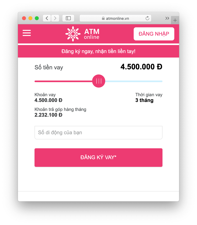 Hình thức thanh toán khoản vay