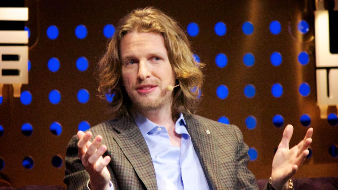 Matt Mullenweg, founder of WordPress giving an interview.