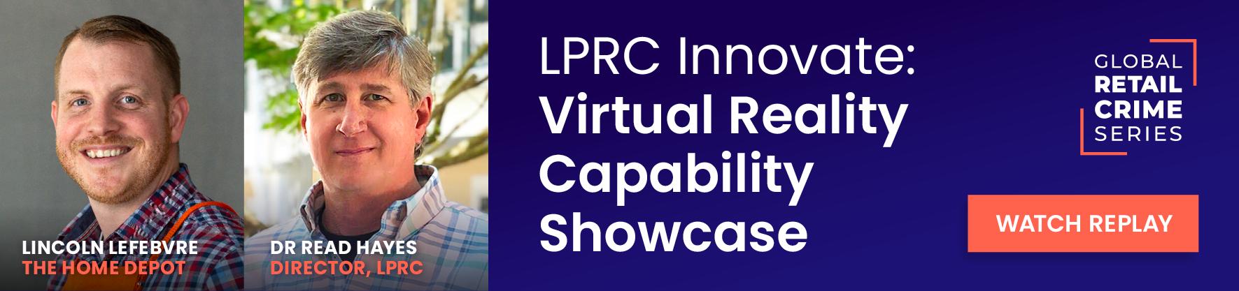 LPRC innovate: Virtual reality capability showcase