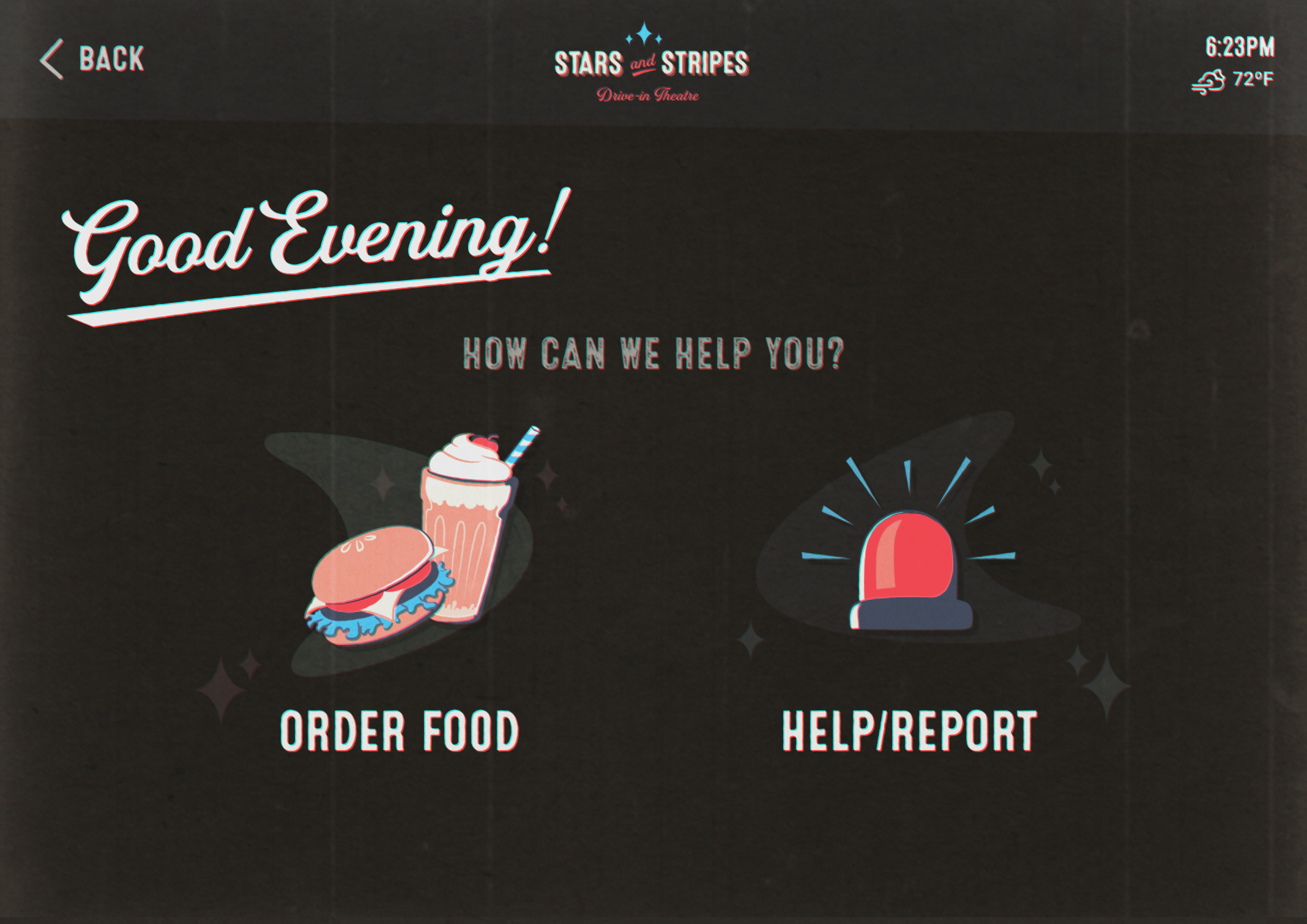 Noctune Dashboard Screen