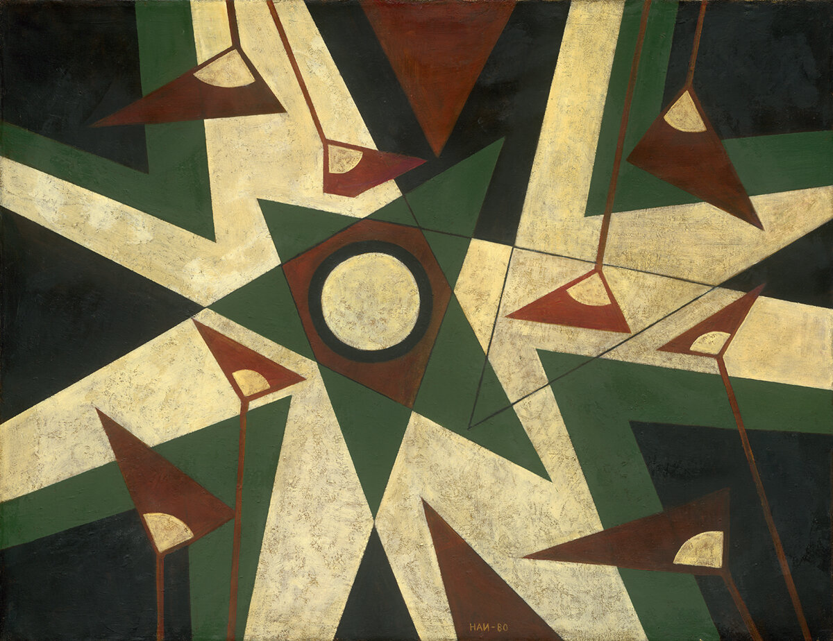Handrio, Untitled, 1980, 100 x 130 cm