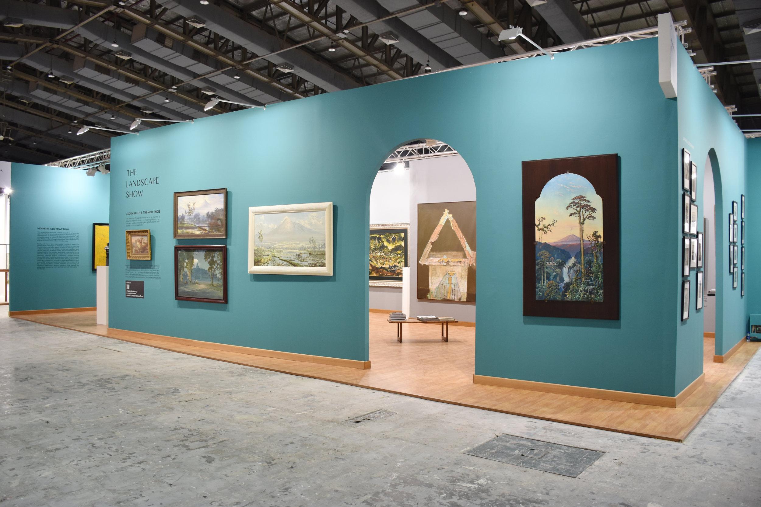 An image of Art Agenda, S.E.A.'s Art Jakarta 2019 Booth