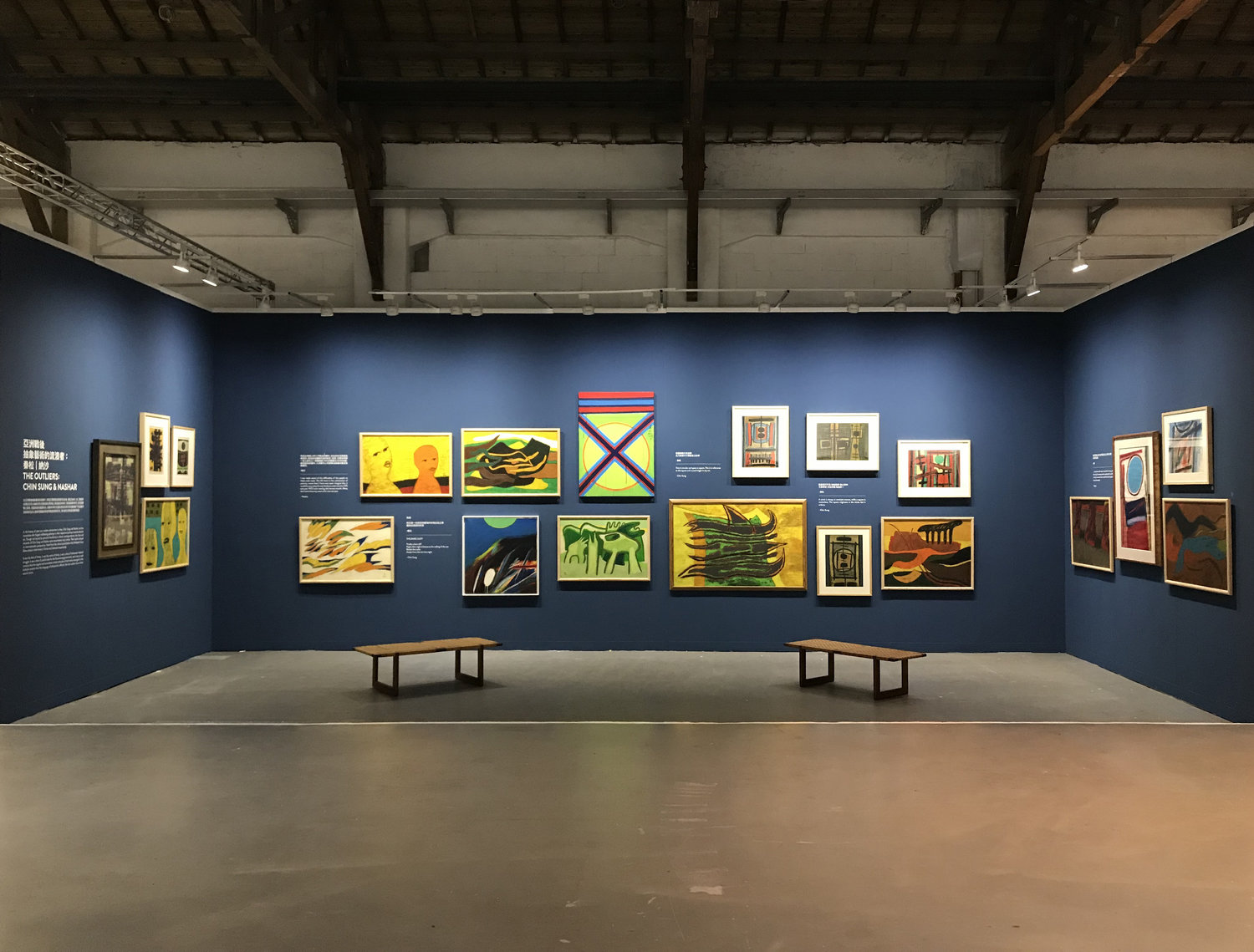 An image of Art Agenda, S.E.A.'s booth at Art Formosa, Taipei, Taiwan