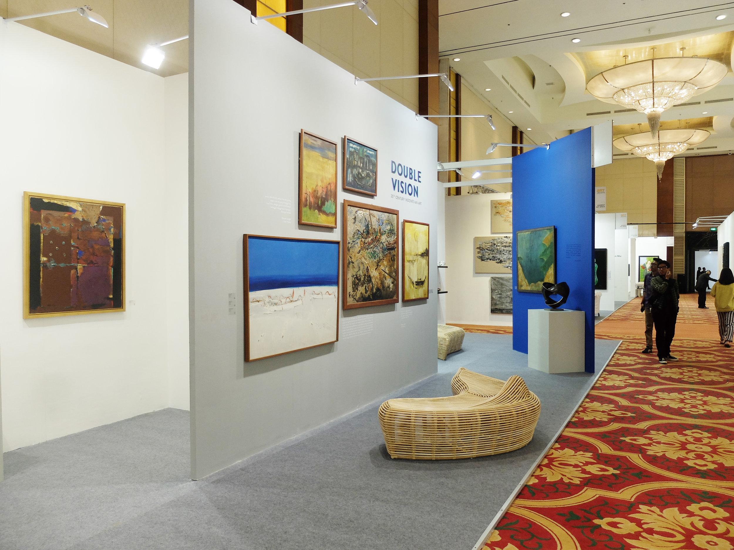 Art Agenda, S.E.A.'s booth at Art Jakarta 2018