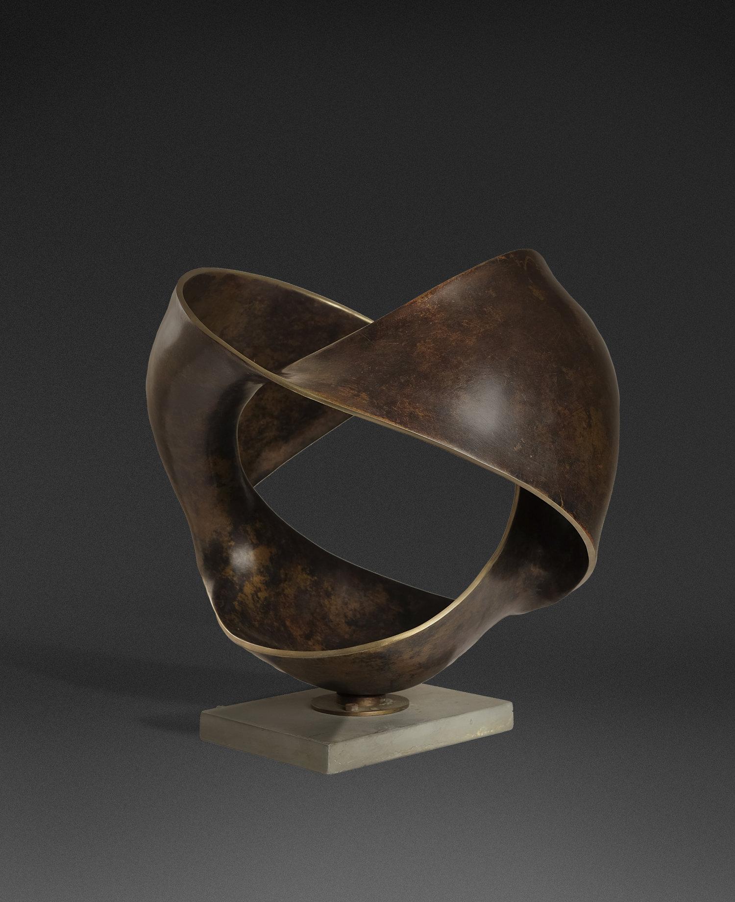 Ahmad Osni Peii, Poimandra, bronze, 51 x 51 x 51cm, 1995