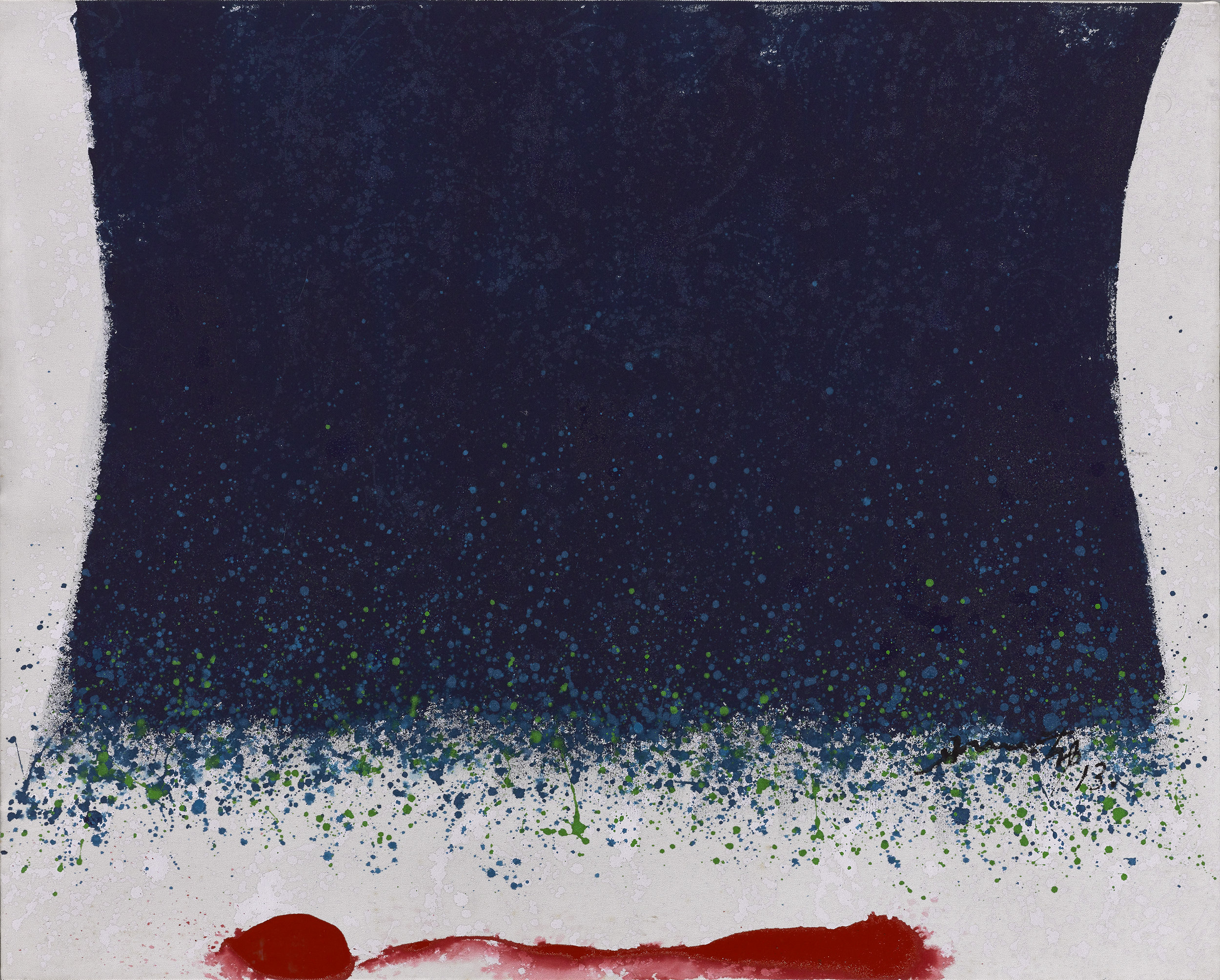 Hsiao Chin, Calmness, acrylic on canvas, 88 x 110 cm, 2013