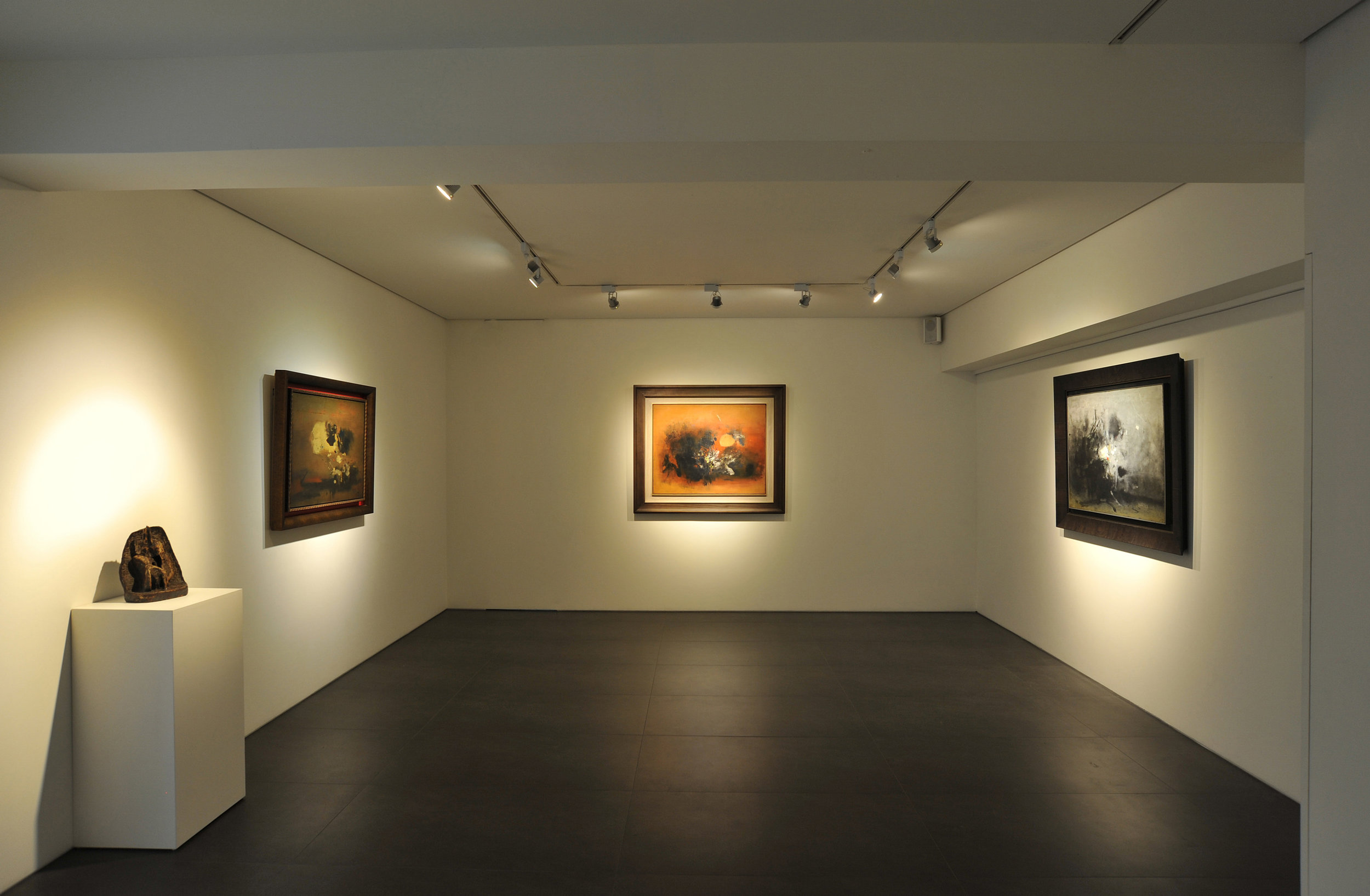An image of the exhibition, Cheong Soo Pieng: A Centenary Celebration in Taiwan within Asia Art Center, Taipei, Taiwan