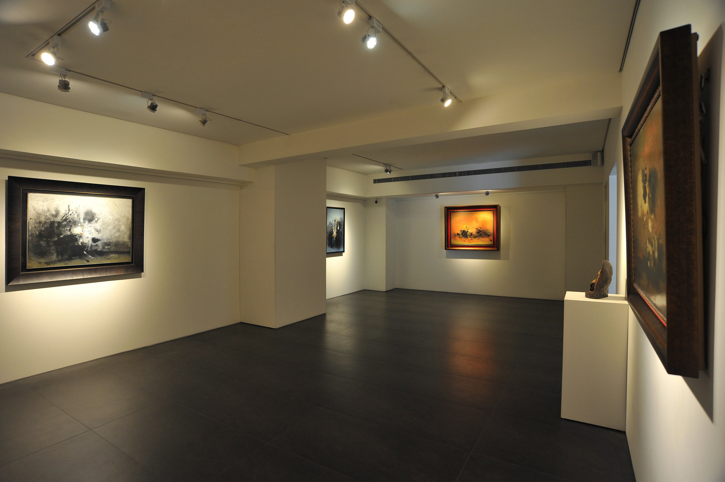 "Paintings from Cheong Soo Pieng's ""London period"", in Asia Art Center, Taipei, Taiwan"
