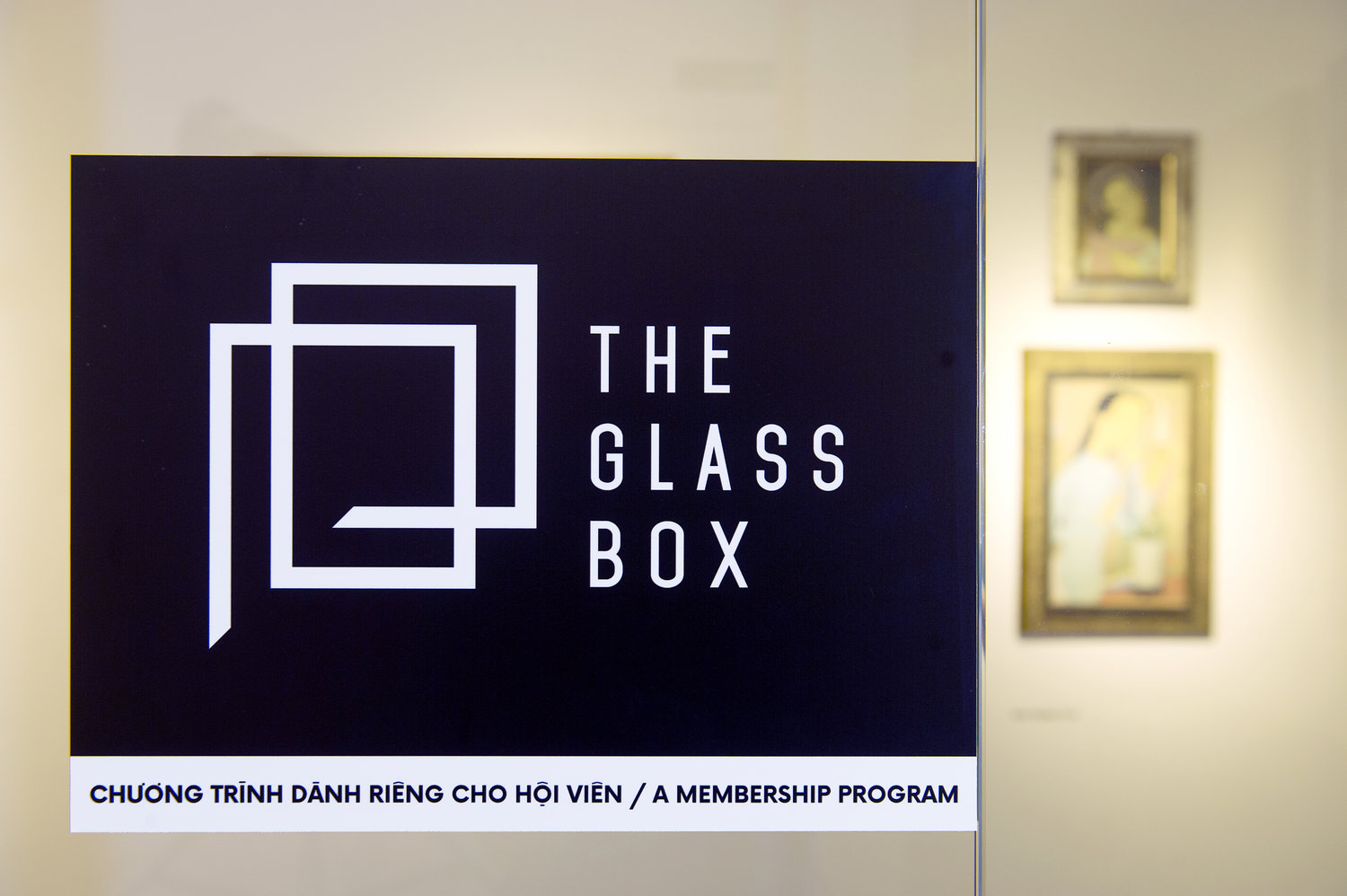 An image of The Glass Box exhibition held at The Factory Contemporary Arts Center, Ho Chi Minh City, Vietnam