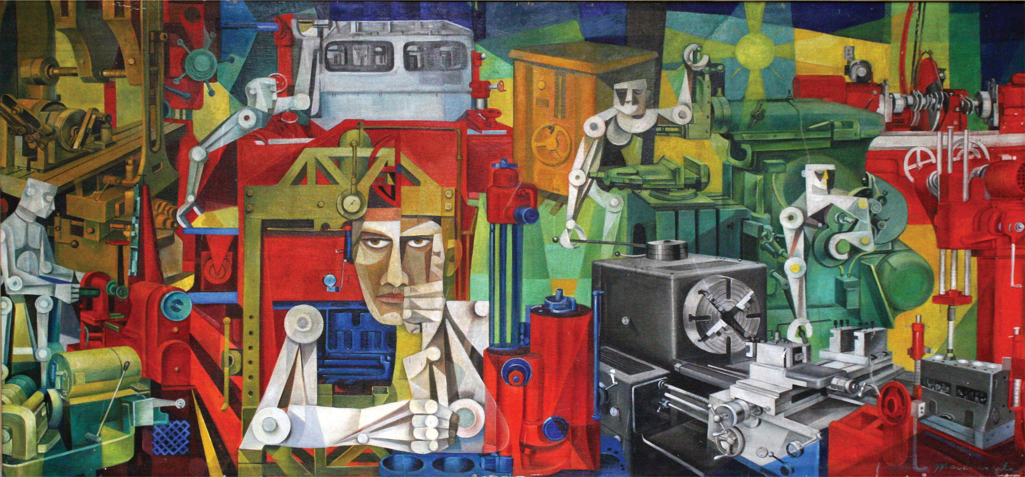 Vicente Mansala, Machinery, 1962