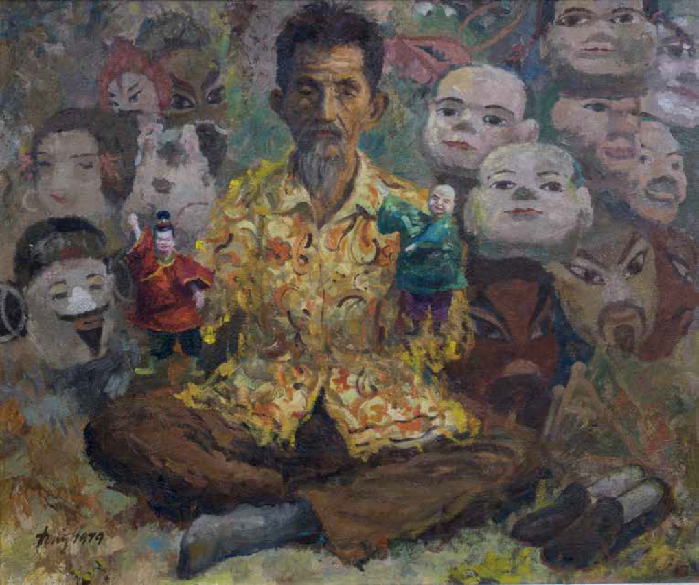 Tong Chin Sye, Puppeteer, 1979