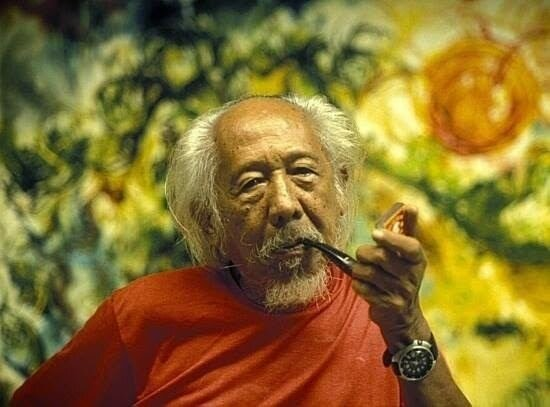 A portrait of Affandi