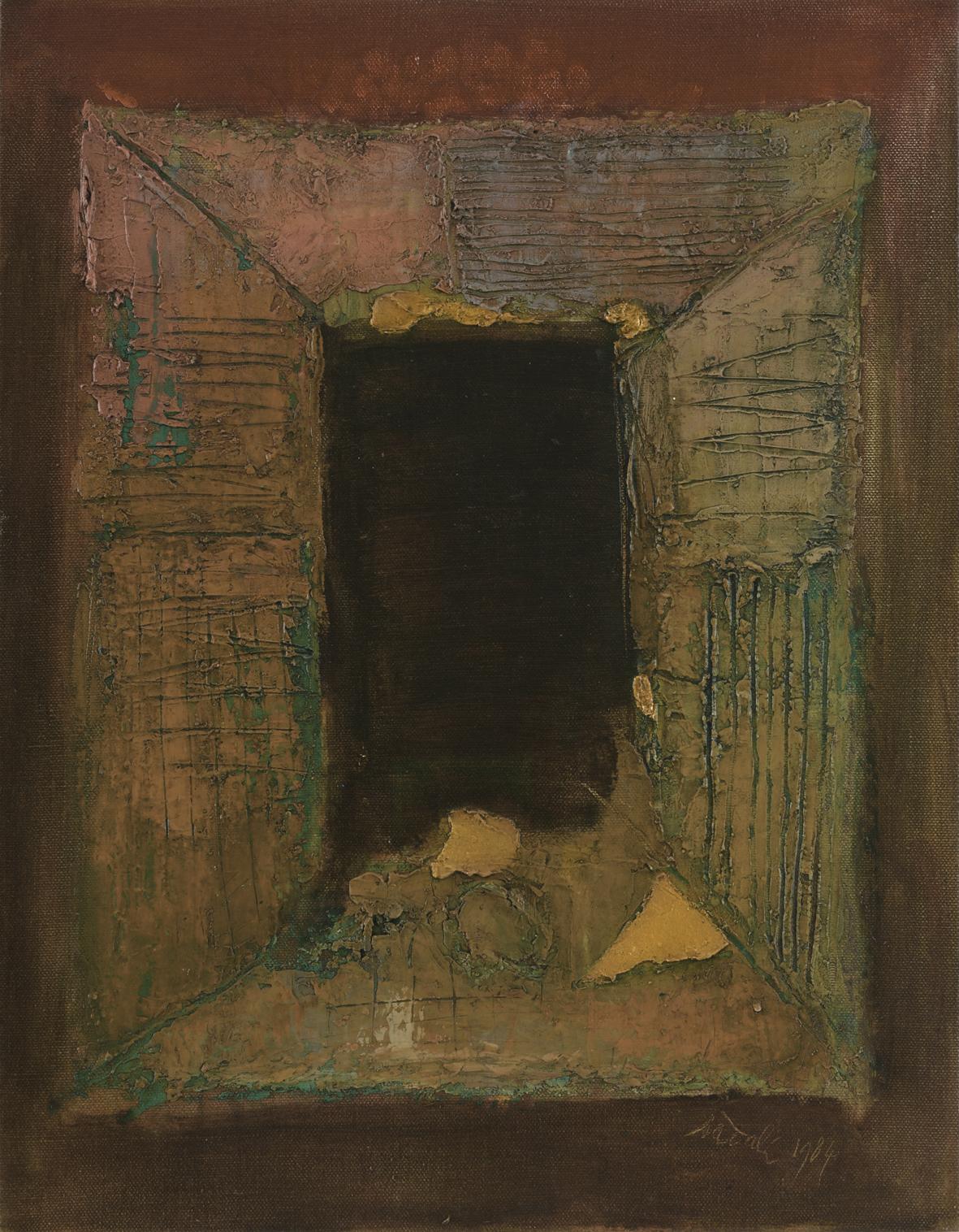Ahmad Sadali, Untitled, 1984, 53 x 41 cm