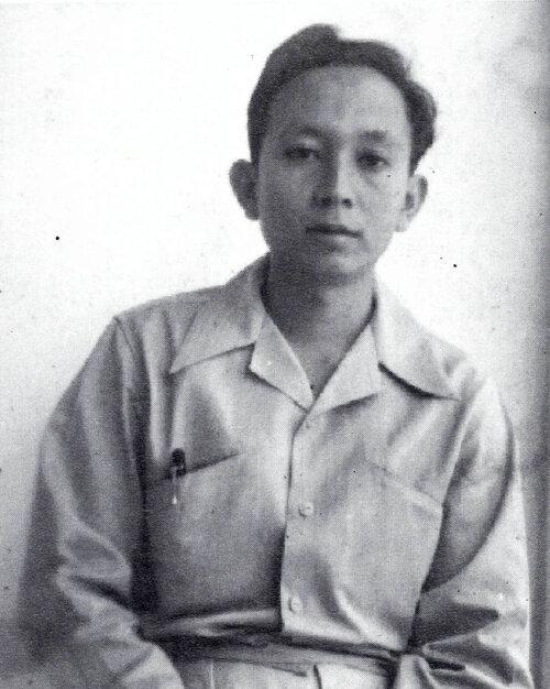 A portrait of Popo Iskandar