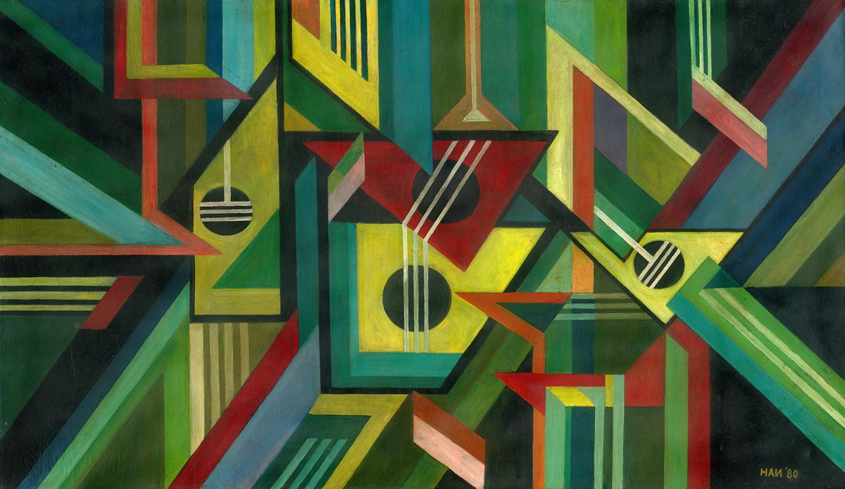 Handrio, Harmony, 1980, 87 x 149 cm
