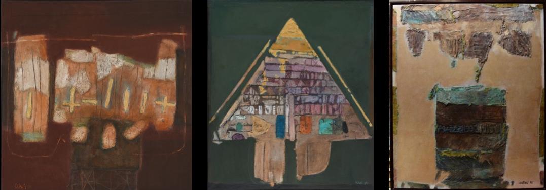 Ahmad Sadali, Abstract (1976), Gunungan (1980), Bidang Berayat dan Bidang Terpecah (1985),