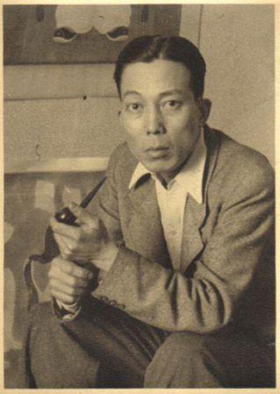A portrait of Mai Trung Thu