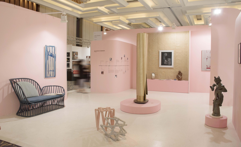 An image of Art Agenda, S.E.A.'s Art Moment Jakarta 2019 Booth