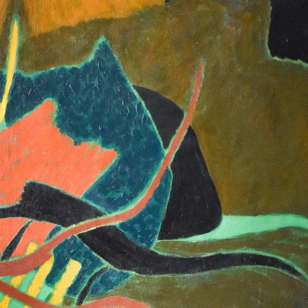 Nashar, Vines, oil on canvas, 64 x 92.5 cm, 1984 (detail)