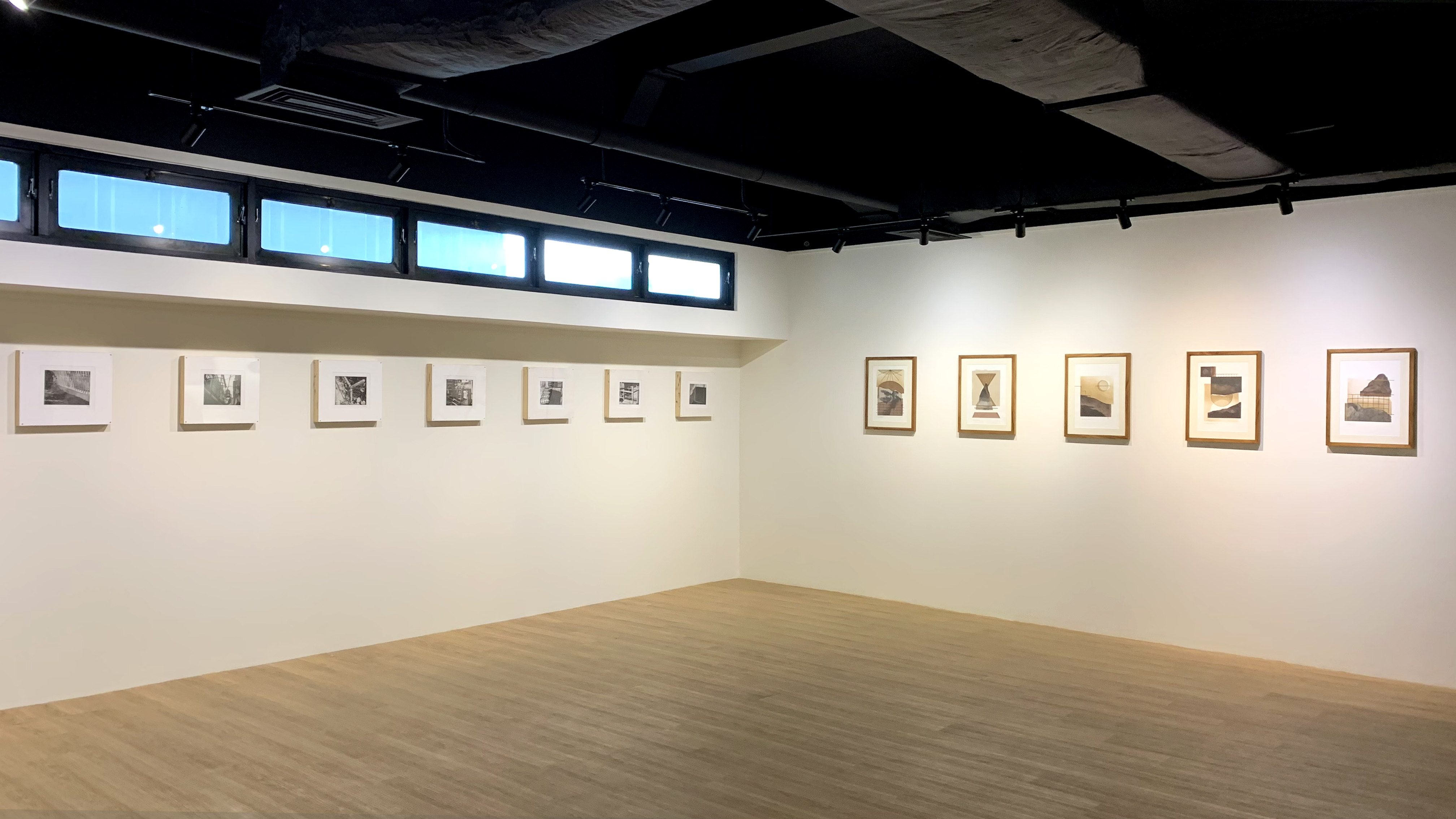 An image of the gallery set up for the exhibition: Criterion