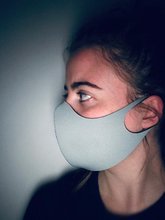 Unisex Mask Grey