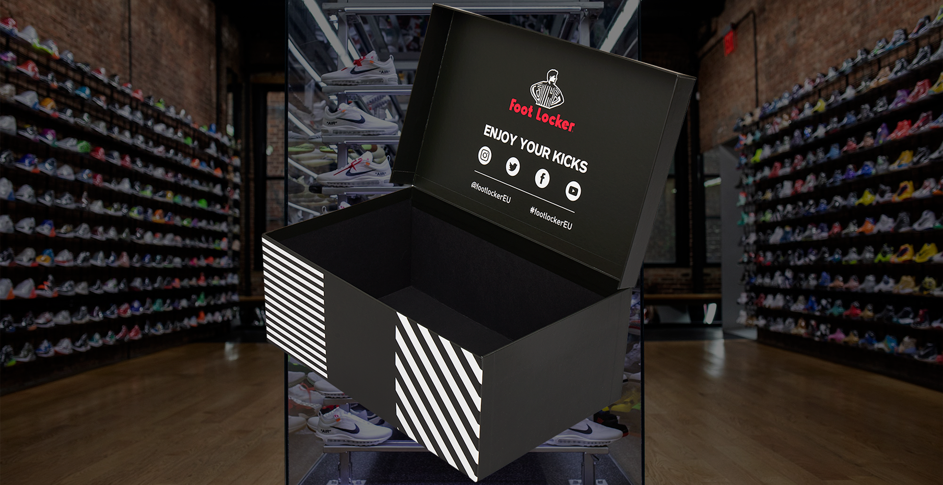 Footlocker Presentation Boxes